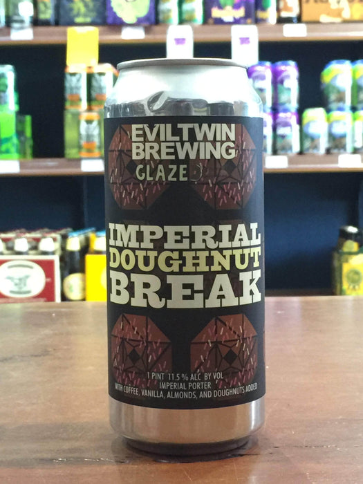 Evil Twin Imperial Doughnut Break 473ml Can - Purvis Beer