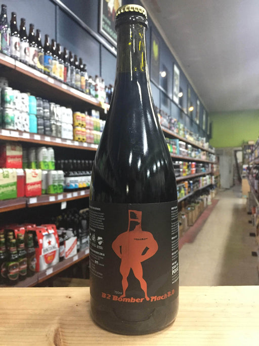 Bridge Road B2 Bomber Mach 8.0 Black IPA 750ml - Purvis Beer