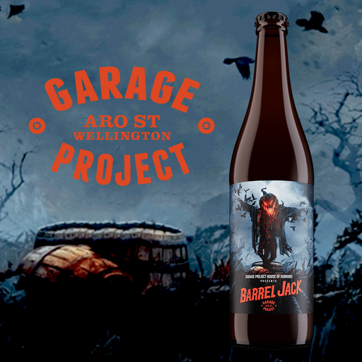 Garage Project Barrel Jack 650ml [Limit 1 bottle]