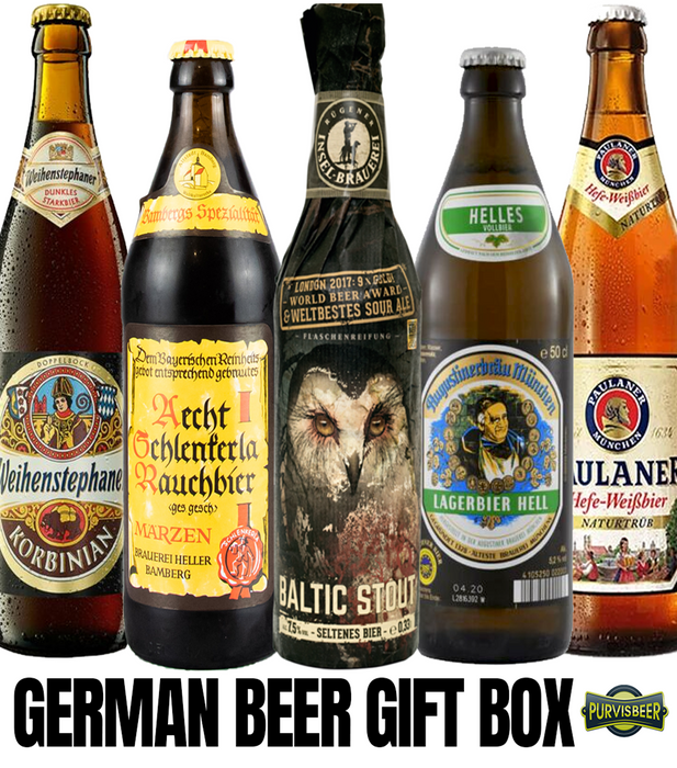 German Beer Gift Box