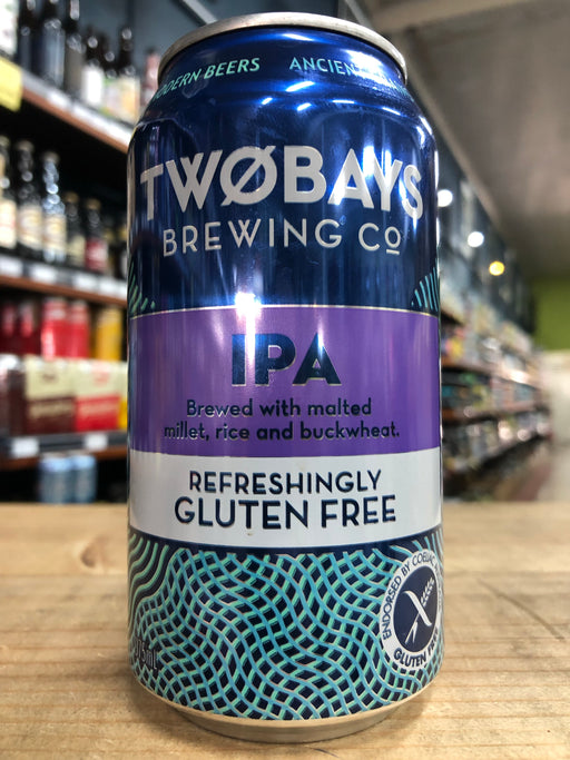 Two Bays Gluten Free IPA 375ml Can