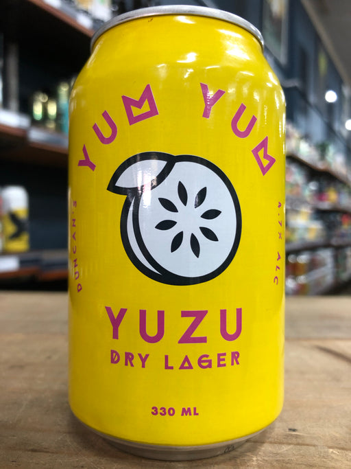 Duncan's Yum Yum Yuzu Dry Lager 330ml Can