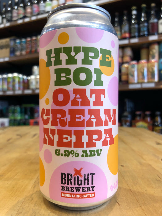 Bright Hype Boi Oat Cream NEIPA 440ml Can