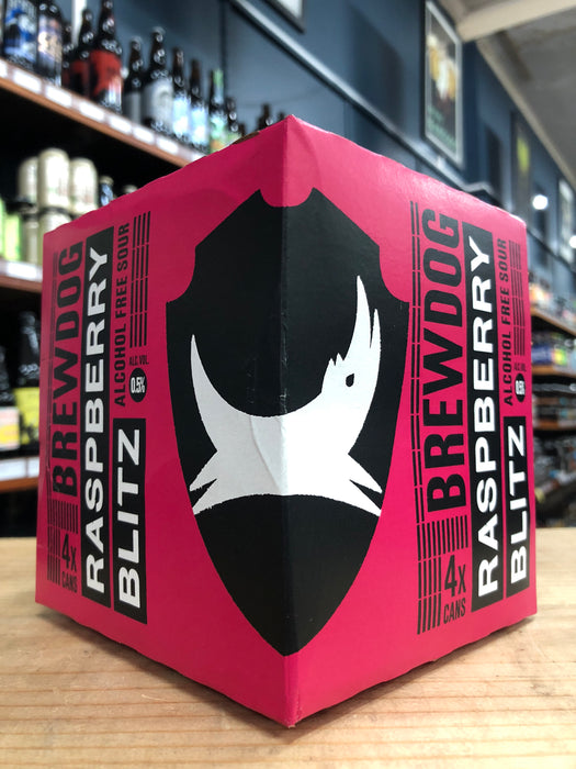 BrewDog Raspberry Blitz Alcohol Free Sour 330ml Can