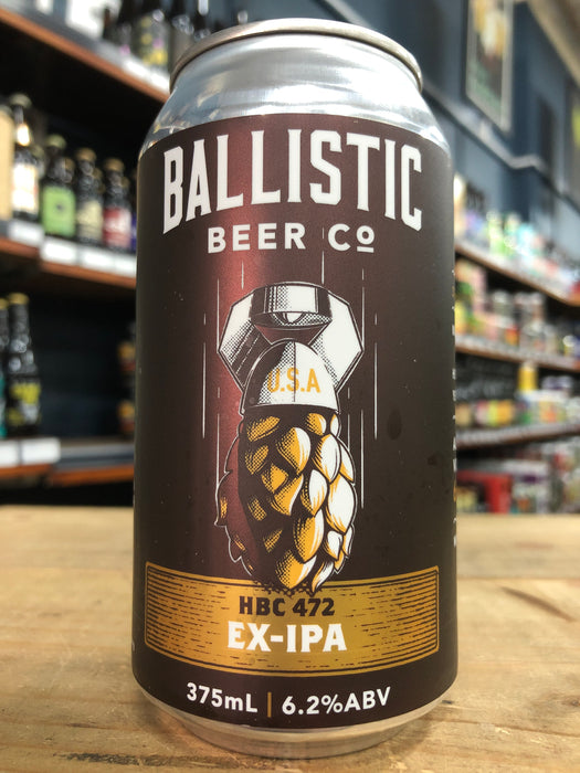 Ballistic HBC472 Experimental IPA 375ml Can