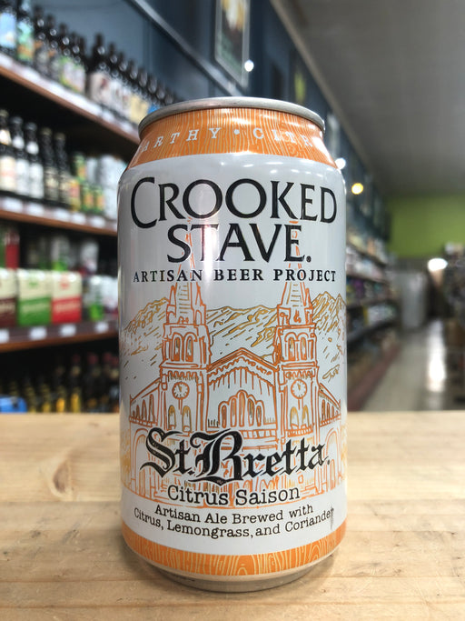 Crooked Stave St. Bretta Citrus Saison 355ml Can