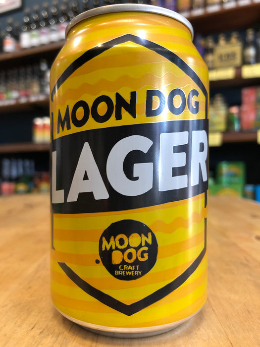 Moon Dog Lager 330ml Can