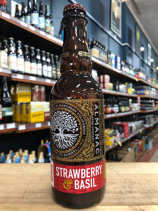 Almanac Strawberry & Basil 375ml
