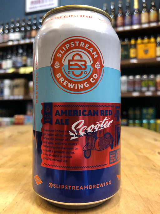 Slipstream Scooter American Red Ale 375ml Can