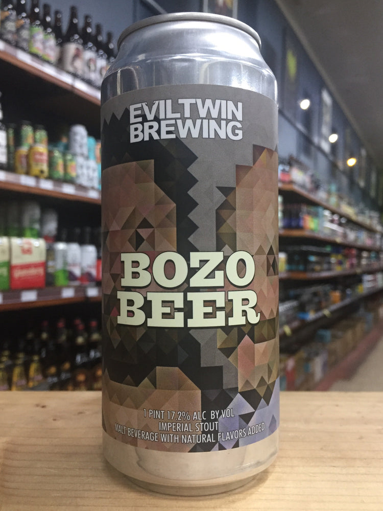 Evil Twin Bozo Beer Imperial Stout 473ml