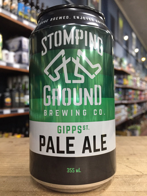 Stomping Ground Gipps St Pale Ale 355ml Can