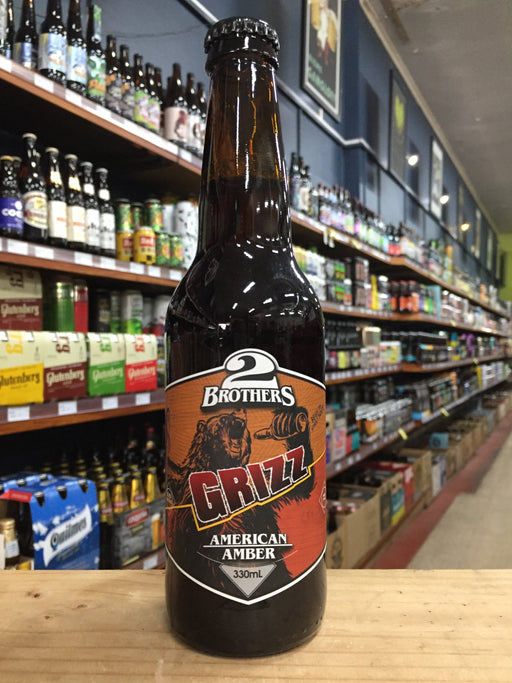 2 Brothers Grizz American Amber Ale 330ml