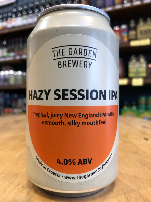 The Garden Hazy Session IPA 330ml Can