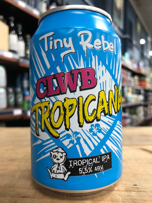 Tiny Rebel Clwb TropiCana IPA 330ml Can