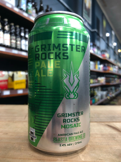 Blasta Grimster Rocks Mosaic Pale Ale 375ml Can