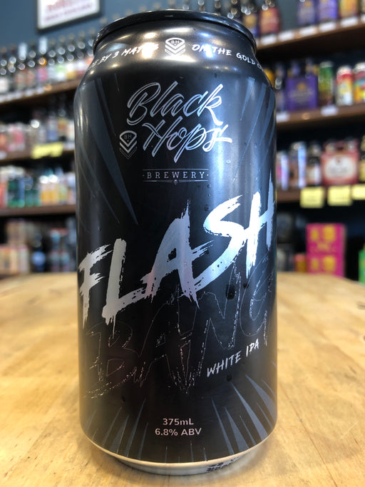 Black Hops Flash Bang White IPA 375ml Can