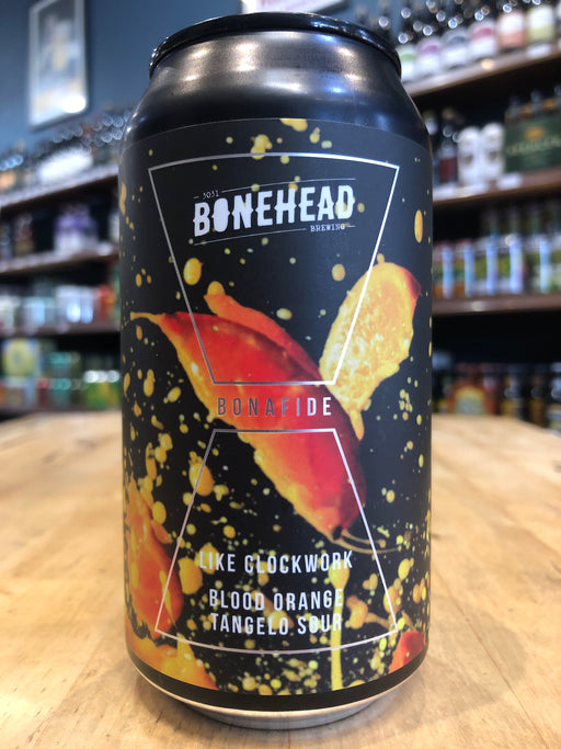 Bonehead Like Clockwork - Blood Orange & Tangelo Sour 375ml Can