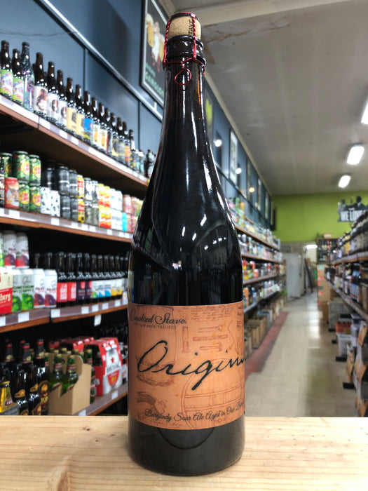 Crooked Stave Origins Oak Aged Burgundy Sour Ale 750ml - Purvis Beer