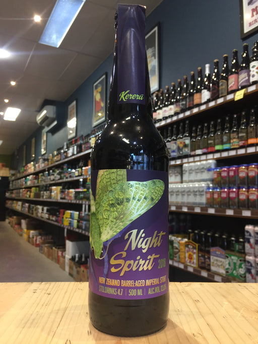 Kereru Night Spirit Barrel-Aged Imperial Stout 500ml