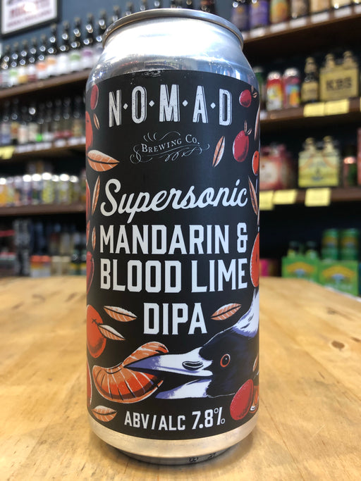 Nomad SuperSonic DIPA - Blood Lime & Mandarin 440ml Can