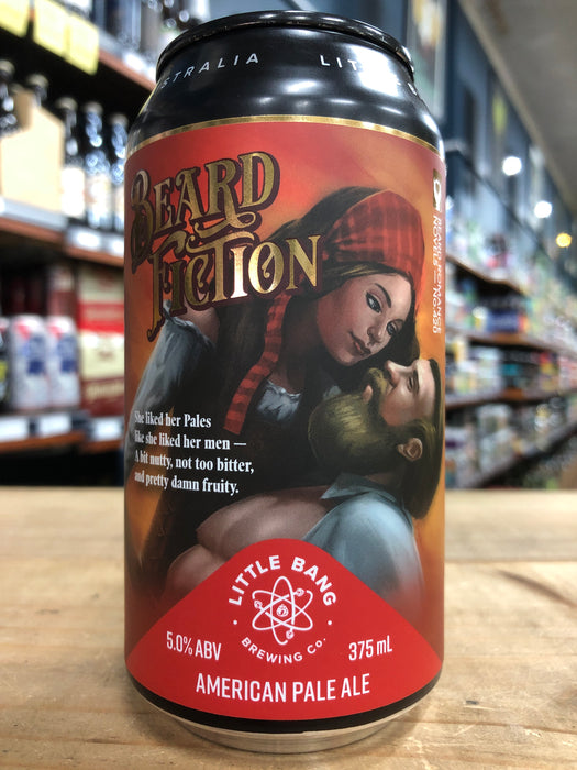 Little Bang Beard Fiction 375ml Can