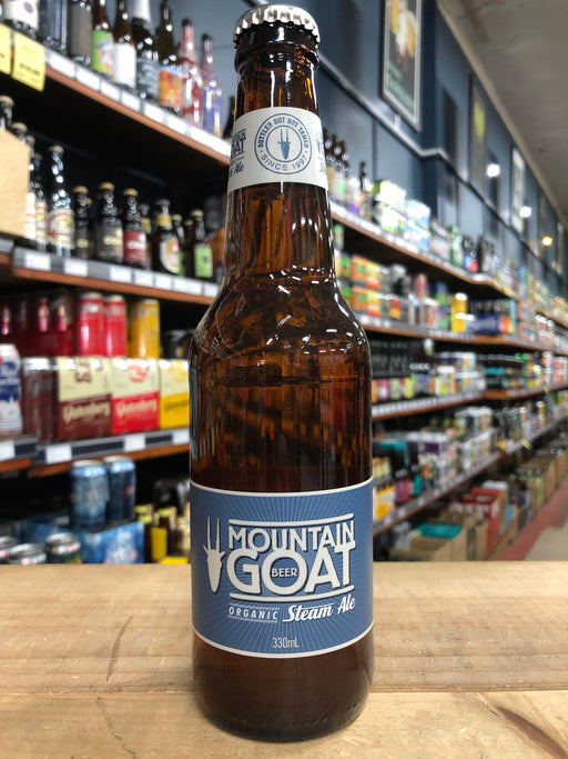 Mountain Goat Organic Steam Ale 330ml
