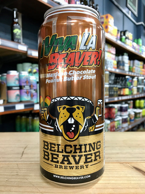 Belching Beaver Viva La Beaver Mexican Peanut Butter Stout 473ml Can