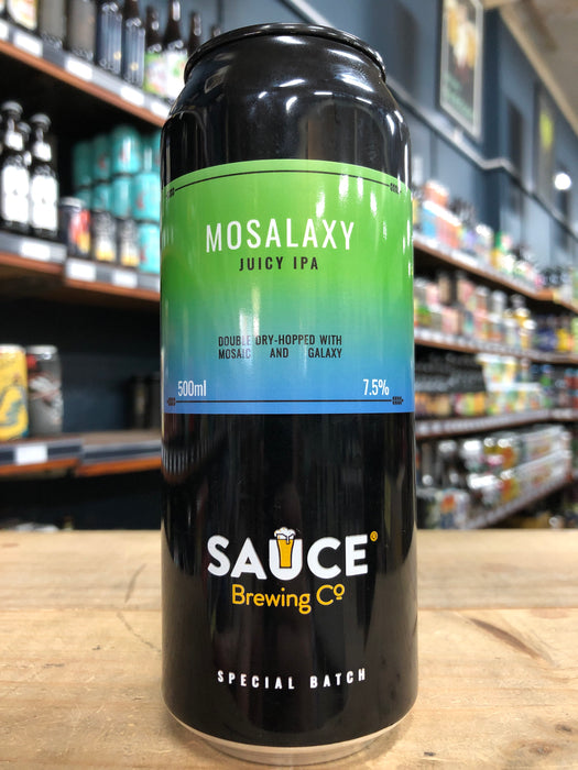 Sauce Mosalaxy Juicy IPA 500ml Can