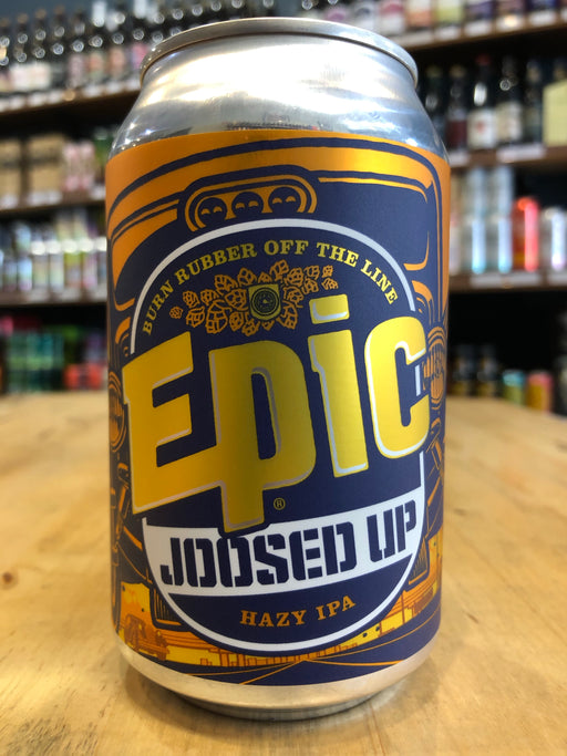 Epic Joosed Up Hazy IPA 330ml Can
