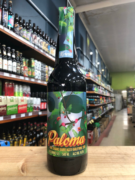 Kereru Paloma Barrel-Aged Barley Wine 500ml