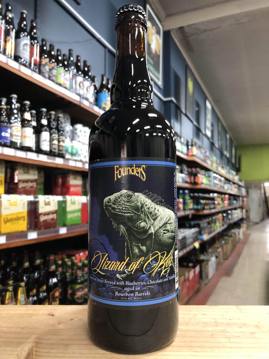Founders Lizard of Koz Bourbon Barrel-Aged Imperial Stout 750ml