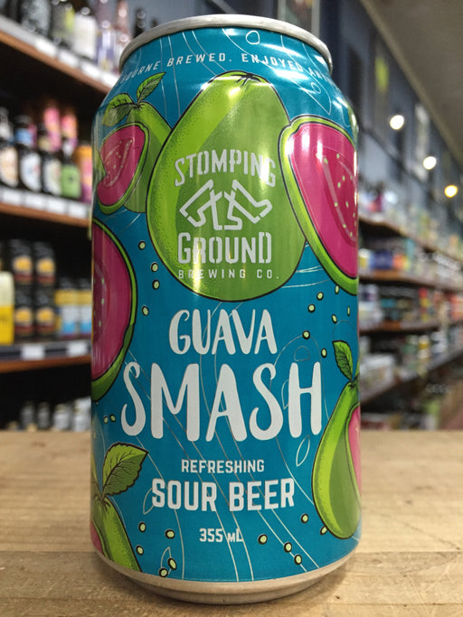 Stomping Ground Guava Smash Gose 355ml Can