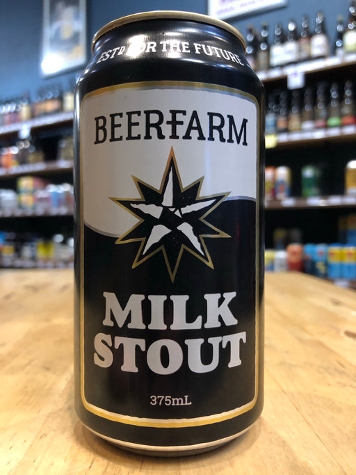 Beerfarm Milk Stout 375ml Can