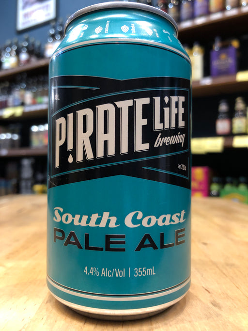 Pirate Life South Coast Pale Ale 355ml Can