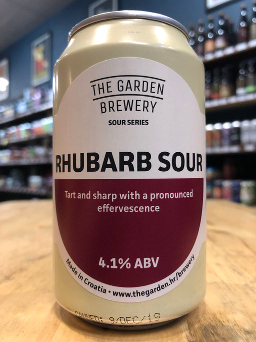 The Garden Rhubarb Sour 330ml Can