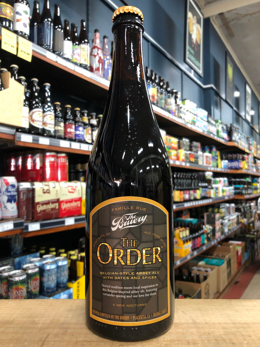 The Bruery The Order Abbey Ale 750ml