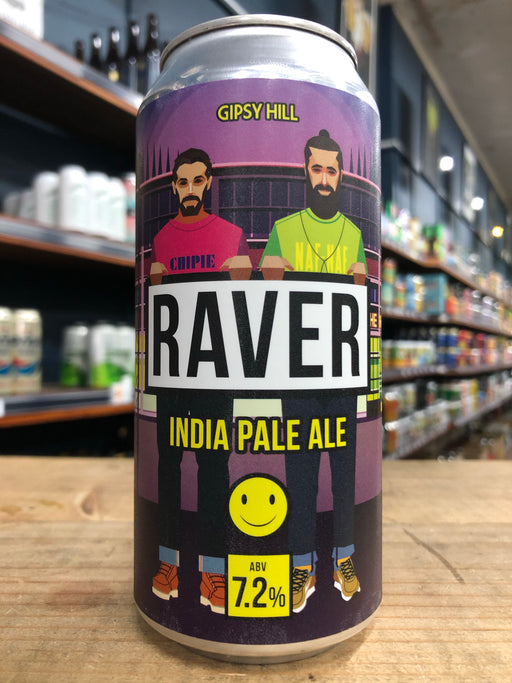 Gipsy Hill Raver IPA 440ml Can
