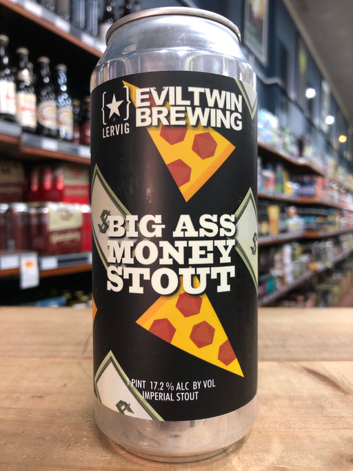 Evil Twin Big Ass Money Stout 473ml Can