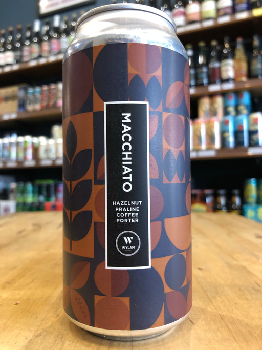 Wylam Macchiato Coffee Hazelnut Porter 440ml Can