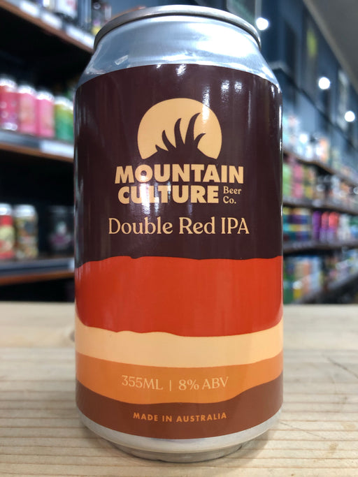 Mountain Culture Double Red IPA 355ml Can