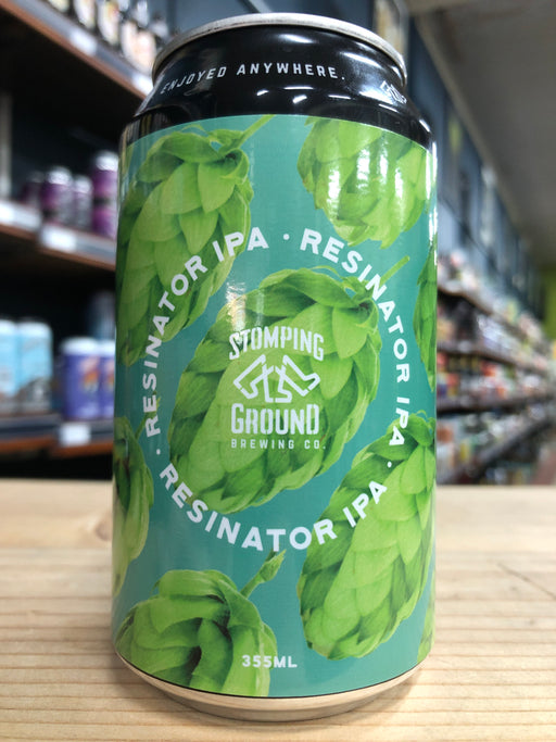 Stomping Ground Resinator IPA 355ml Can