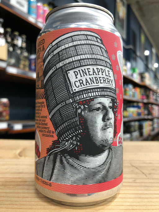 Beerfarm Barrel Aged Cranberry & Pineapple Sour 375ml Can