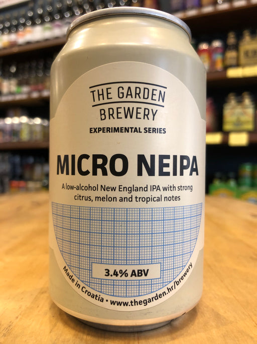 The Garden Micro NEIPA 330ml Can