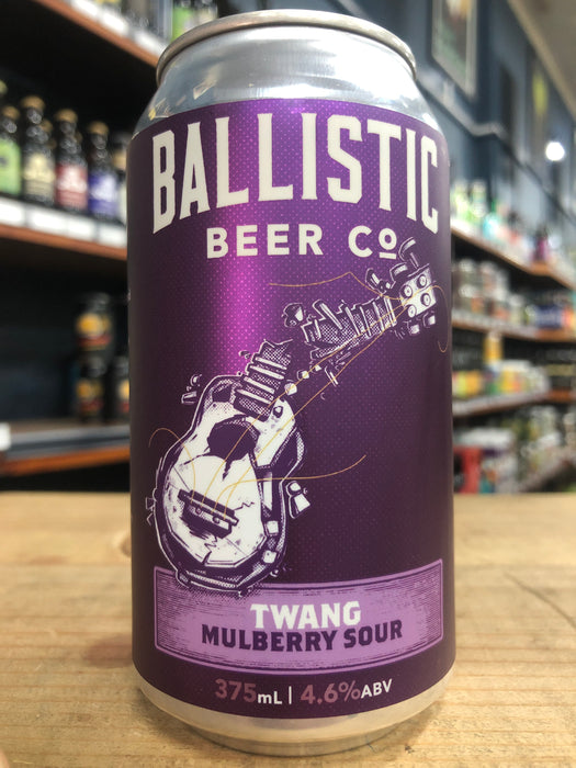 Ballistic Twang Mulberry Sour 375ml Can