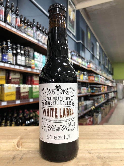Emelisse White Label Peated Barrel-Aged Russian Imperial Stout 330ml