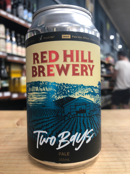 Red Hill Two Bays Pale Ale 330ml Can