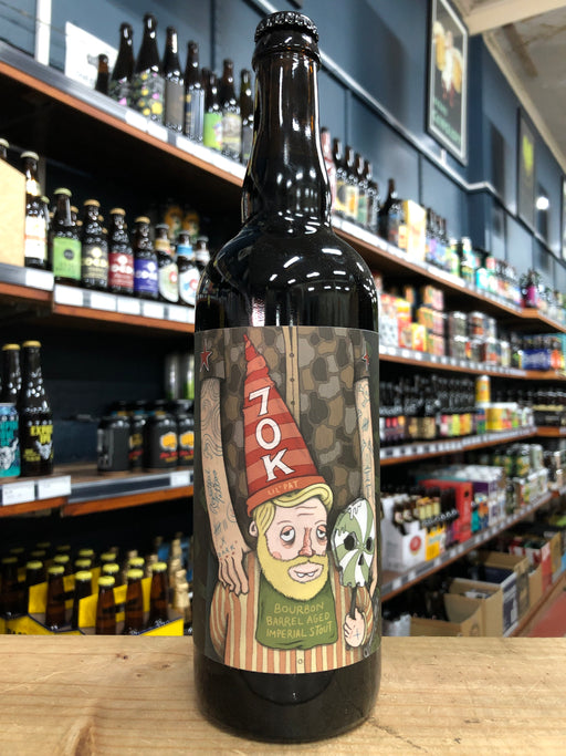 Against the Grain 70K BA Imperial Milk Stout 750ml