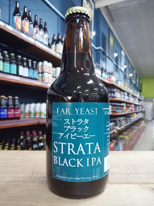 Far Yeast Strata Black IPA 330ml