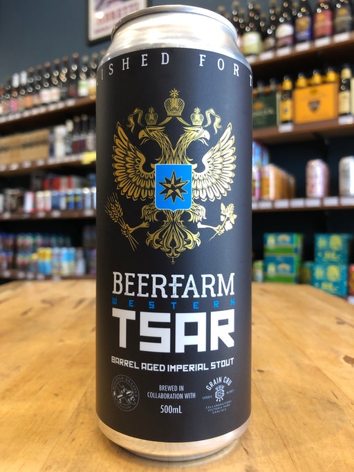 Beerfarm Western Tsar Barrel Aged Imperial Stout 500ml Can