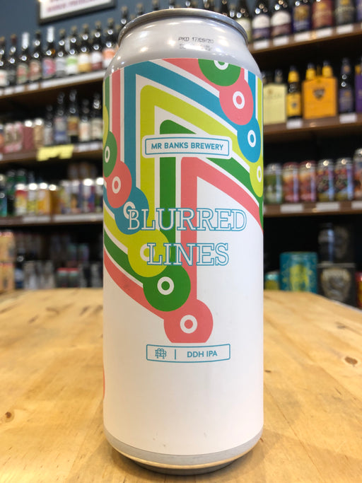 Mr Banks Blurred Lines DDH IPA 500ml Can